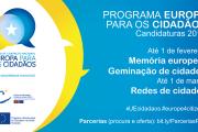 """Programa """"Europa para os cidadãos"""""""